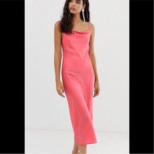 Zara Coral Maxi Dress